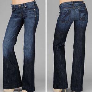 7FAM Dojo Wide Leg Trouser Jeans 26